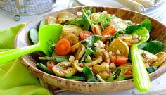 Sweet Potato and Macadamia Nut Salad