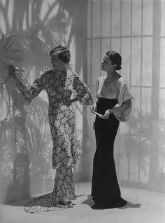 Photo by George Hoyningen-Huene, 1934.