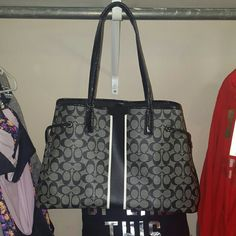 AUTHENTIC COACH Large style bag Absolutely no flaws  Like new condition  $186 shipped on mercarii Coach  Bags Shoulder Bags