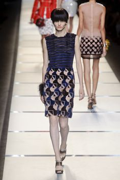 Fendi Spring 2014: See The Latest Collection from Karl Lagerfeld | StyleCaster