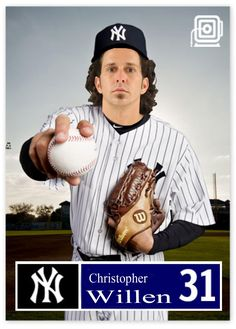 I've been putting people from the local 24 hour arrest list onto baseball cards