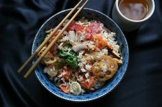 Rice bowls; a resource for a variety of rice bowl ideas and recipes.