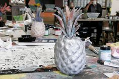 Annie Sloan Blogger Event – Vintage Oxford #anniesloan #chalkpaint #pineapple