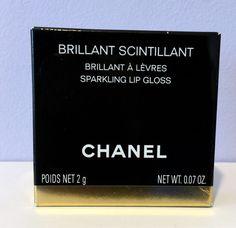 CHANEL Brillant Scintillant A Levres Sparkling Lip Gloss LIMITED EDITION 0.07 oz #CHANEL