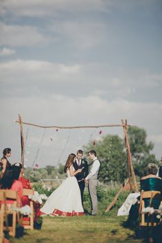 Colorful Indian fusion wedding at 63 Street Farm: http://www.stylemepretty.com/colorado-weddings/boulder/2014/06/06/colorful-indian-fusion-wedding-at-63rd-street-farm/ | Photography: http://stonecrandall.com/