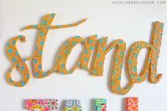 - A girl and a glue gun Flamingo Ornament, Glitter Letters, Glue Gun, Stand Tall, Guns, Ornaments, Sewing, Coastal, Diy