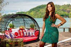 Bruna Marquezine,   Grazi Massafera Giovana Ewbank usando   vestidos em  crochê
