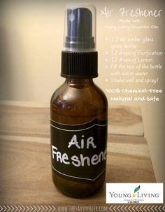 #DIY #airfreshener all natural with #YLEO To purchase check come over to www.theoildropper.com  Click picture to read more!