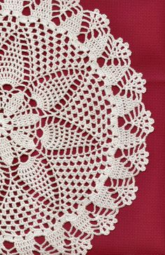 Handmade Crochet doily, lace doily, table decoration, crocheted place mat, doily tablecloth, table runner, napkin, white