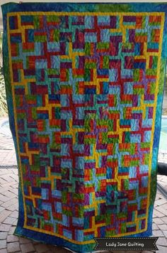 Client quilt - Edge-to-edge Quilted