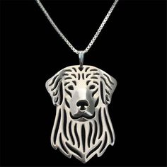 Silhouette Dog Necklaces