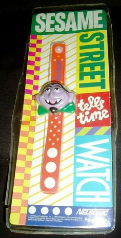 The Count From Sesame Street | Sesame Street watches (Nelsonic) - Muppet Wiki