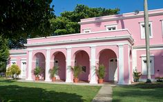 Old San Juan, Puerto Rico And we know how much I love pink...