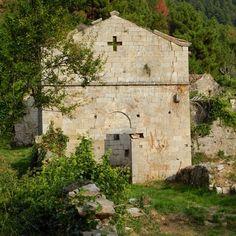 Pieve di Santa Maria a #Mirteto #IterrCost Itinerario Lungomonte. Escursioni con #vadoevedo