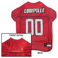 Louisville Cardinals NCAA Dog Jersey cf8feba07