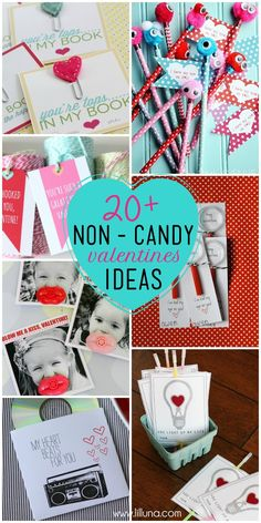 20+ Non-Candy Valentine's Ideas on { lilluna.com } #valentines