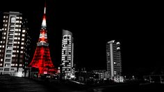Tokyo Wallpaper Black And White For Iphone Widescreen Wallpaper, Wallpapers, White Wallpaper, Landscape Wallpaper, Empire State Building, Planets, Tokyo, Fair Grounds, Street View