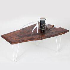 #touchofmodern.com        #table                    #Claro #Walnut #Slab #Coffee #Table                 Claro Walnut Slab Coffee Table                                                http://www.seapai.com/product.aspx?PID=631966