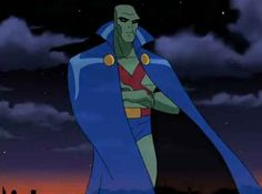 Martian Manhunter from Justice League/Justice League Unlimited