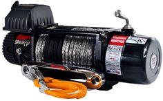 Treuil Electrique Spartan 3629 Kg 24v corde 8mm x 25m   ✓ ref: 80SPS24s30   Superbe treuil Warrior Spartan 3600kg 24 voltes corde syntétique long 30m diametre 8mm, commande filaire et double radio commande, idéal pour les applications de traction et 4x4. Les caractéristiques exceptionnelles comprennent des roulements moteur étanchent avec raccords en laiton, relais robuste . Livré avec ecubier à fixer sur une platine ou équerre. Garantie limitée a vie Warrior   ☞ - 0%