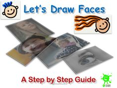 Primary School Art Resource. Let's Draw Faces. Key Stage 1, Key Stage 2