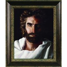 Child prodigy Akiane Kramarik painted this image, titled Prince of Peace when she was only eight years old. The result is a striking portrait of Jesus Christ, as Akiane saw Him.