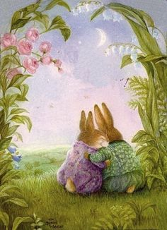 best ideas about Susan Wheeler Susan Wheeler, Bunny Art, Cute Bunny, Beatrix Potter, Art And Illustration, Whimsical Art, Cute Art, Illustrators, Cute Pictures