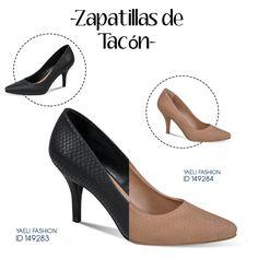Dos tonos diferentes, un mismo estilo. #iLovePS #style #zapatillas #tacones #pump #chic #fashion #fashionable #fashionista #happy #must #sexy #shoes #pumps #black t #nude
