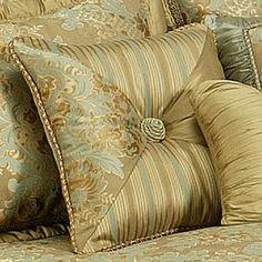 Austin Horn Mondavi Square Pillow - Greecian Knot