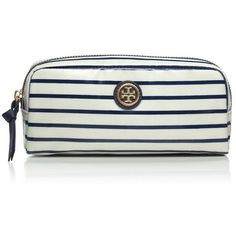 Tory Burch Printed Cosmetic Case found on Polyvore