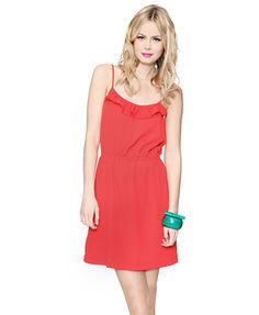 Cute red dress: Forever 21