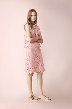 Luisa cerano mantel pink