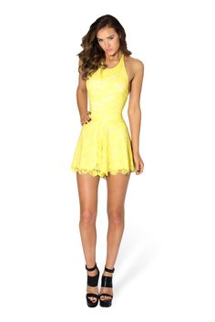 Once Upon A Time Lemon Playsuit - LIMITED by Black Milk Clothing $99AUD