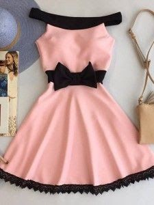 Vestidos Moda Hello, babe girl In the last post, I was commenting on very beautiful lipsticks for you to use! How about we continue this selection! Mode Outfits, Stylish Outfits, Dress Outfits, Girl Outfits, Fashion Dresses, Dresses For Teens, Short Dresses, Girls Dresses, Prom Dresses