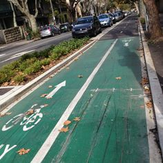 Bike lanes!! Every city should get some..