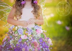 Fairy Flower Skirt and Set by enchantedfairyco on Etsy
