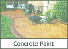 Concrete Patio Paint Designs Ideas Pictures