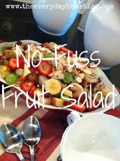 No-Fuss Fruit Salad