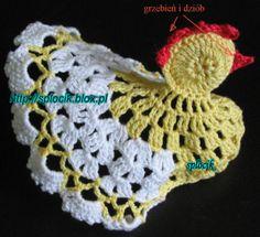 Tutorial for crochet chicken Crochet Toys, Free Crochet, Macrame Thread, Chicken Pattern, Crochet Chicken, Easter Crochet Patterns, Easy Knitting, Vintage Crochet, Single Crochet