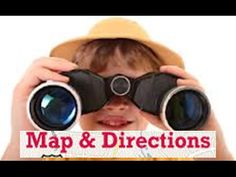 Maps and Directions -Easy learning for junior kids