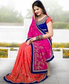 https://www.a1designerwear.com/splendid-pink-chiffon-saree