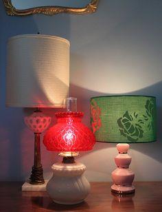 Lamp grouping.