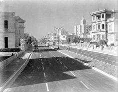 Av Linea 1950 La Calle Línea es una de las más importantes del Vedado en La Habana y la primera que se trazó en esa barriada.