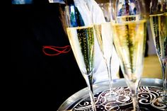 Champagne spectacular. Stones Events.