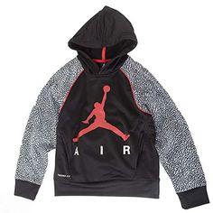 Obsidian Large Nike Boys Jordan Jumpman Elephant Print Pullover Hoodie