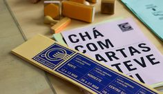Chá com Cartas on Behance