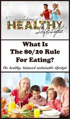 The 80/20 rule for eating isn't a diet. It's a sensible guide to following a healthy balanced sustainable lifestyle. The guide is to focus on eating healthily for around 80% of the time and then to feel free to indulge in other foods or treats of your choice for the other 20% of time. via @neilhealthymeal