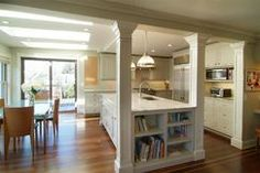 Beautiful new kitchen - traditional design with modern touches - another shot of the white kitchen