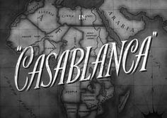 Casablanca one of the greatest movies ever.