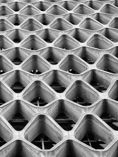 Fachada de Concreto Vazado